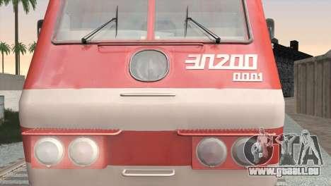 ÈP200-0001 pour GTA San Andreas laissé vue