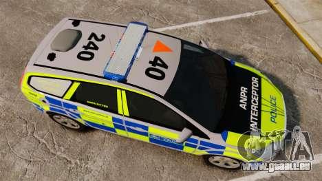 Ford Focus Estate Metropolitan Police [ELS] für GTA 4 rechte Ansicht