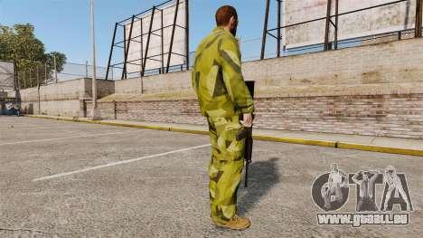 Die schwedische Camouflage-uniform für GTA 4 dritte Screenshot