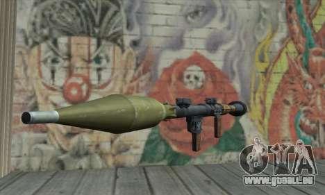 Lance-missile pour GTA San Andreas