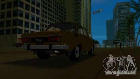 AZLK 2140 pour une vue GTA Vice City de l'intérieur