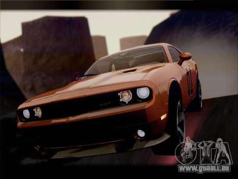 Dodge Challenger SRT8 2012 HEMI für GTA San Andreas Räder