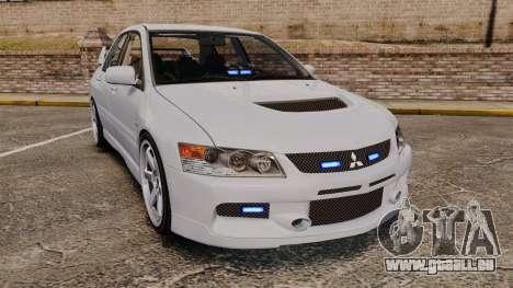 Mitsubishi Lancer Unmarked Police [ELS] für GTA 4