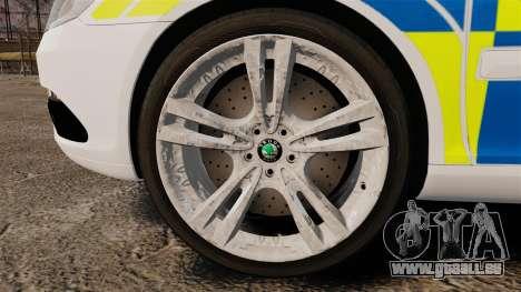 Skoda Octavia Scout RS Metropolitan Police [ELS] für GTA 4 Rückansicht