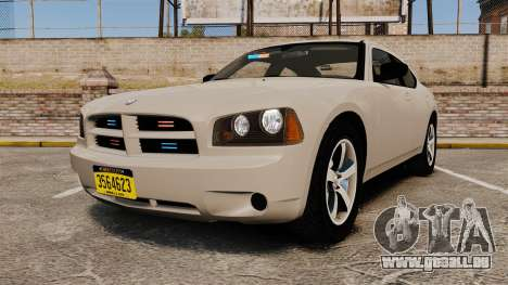 Dodge Charger Unmarked Police [ELS] pour GTA 4