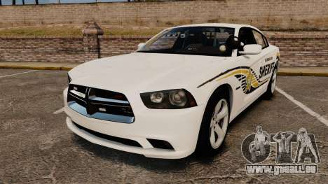 Dodge Charger RT 2012 Slicktop Police [ELS] pour GTA 4