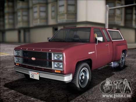 Vapid Bobcat XL von GTA V für GTA San Andreas