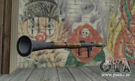 Lance-missile pour GTA San Andreas deuxième écran