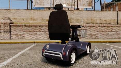 Funny Electro Scooter pour GTA 4 Vue arrière de la gauche