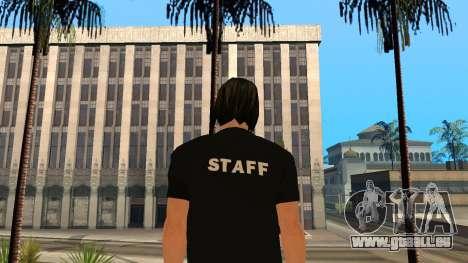 Hochwertige Haut Personal für GTA San Andreas zweiten Screenshot