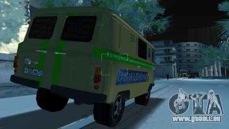 Collection UAZ-3741 pour une vue GTA Vice City de la gauche