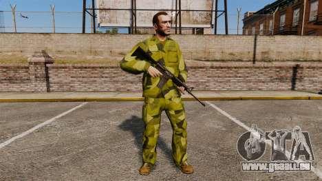 Die schwedische Camouflage-uniform für GTA 4