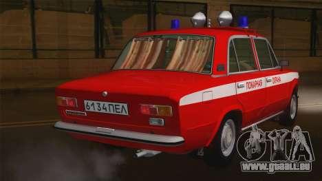 VAZ 21011 Brandschutz für GTA San Andreas zurück linke Ansicht