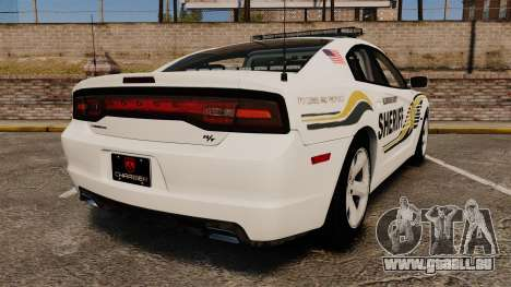 Dodge Charger RT 2012 Police [ELS] für GTA 4 hinten links Ansicht