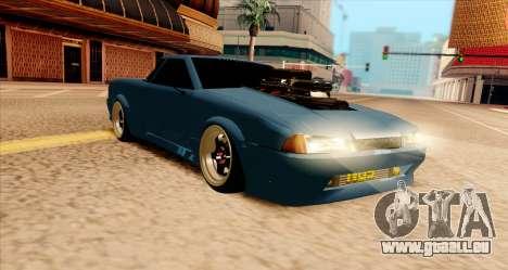 Elegy pickup v2.0 pour GTA San Andreas