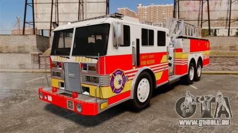 MTL Firetruck MDH1000 LCFR [ELS] pour GTA 4