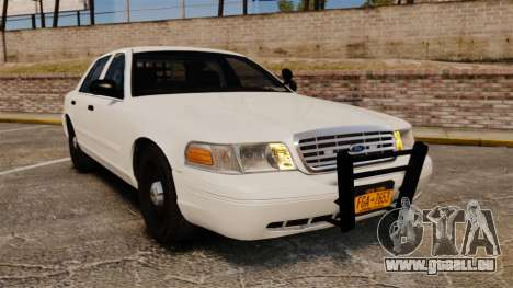 Ford Crown Victoria 1999 Unmarked Police pour GTA 4