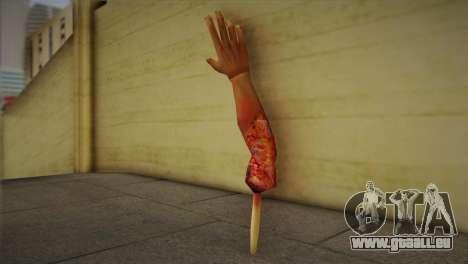 Zomie Hand pour GTA San Andreas deuxième écran