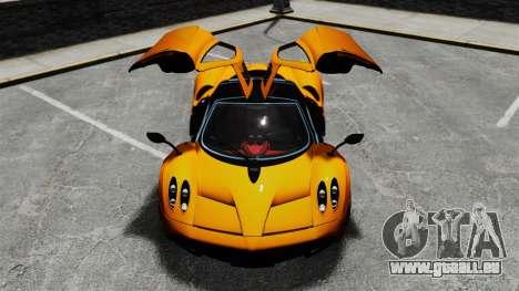 Pagani Huyara [EPM] pour GTA 4 roues