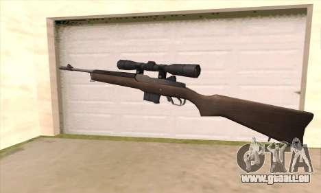 Scharfschützengewehr von Left 4 Dead 2 für GTA San Andreas zweiten Screenshot