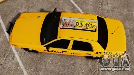 Ford Crown Victoria 1999 NYC Taxi v1.1 für GTA 4 rechte Ansicht