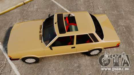 Ford Taunus GLS v2.0 für GTA 4 rechte Ansicht