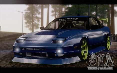 Nissan 240sx drift für GTA San Andreas