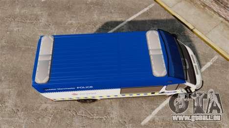 Fiat Ducato Manchester Police [ELS] für GTA 4 rechte Ansicht