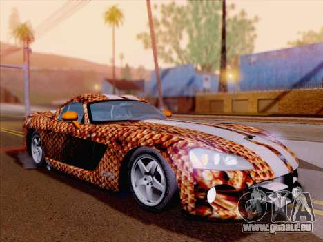 Dodge Viper SRT-10 Coupe pour GTA San Andreas moteur