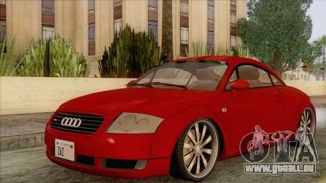 Audi TT 1.8T für GTA San Andreas