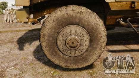Oshkosh M-ATV pour GTA 4 Vue arrière