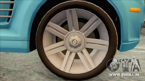 Chrysler Crossfire für GTA San Andreas rechten Ansicht