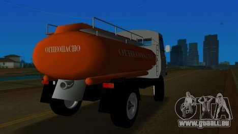 UAZ 465 Truck pour GTA Vice City sur la vue arrière gauche