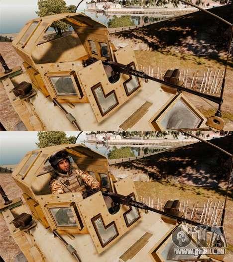 Oshkosh M-ATV für GTA 4 obere Ansicht