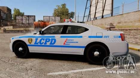Dodge Charger LCPD [ELS] pour GTA 4 est une gauche