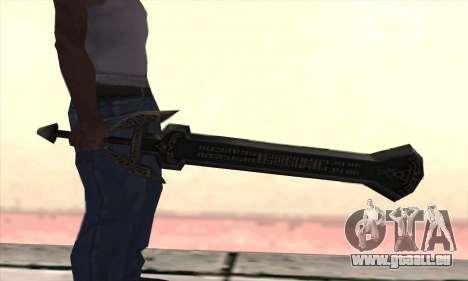 Sword of Darknut pour GTA San Andreas deuxième écran