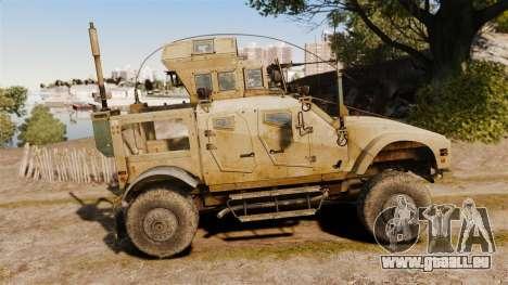 Oshkosh M-ATV pour GTA 4 est une gauche