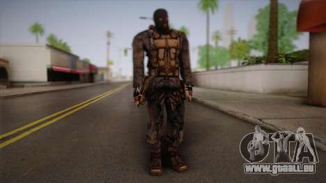 Un mercenaire de t. s. a. l. k. e. R pour GTA San Andreas