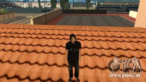 Hochwertige Haut Personal für GTA San Andreas sechsten Screenshot