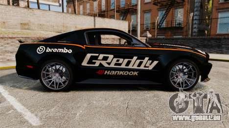 Ford Mustang GT 2013 NFS Edition für GTA 4 linke Ansicht