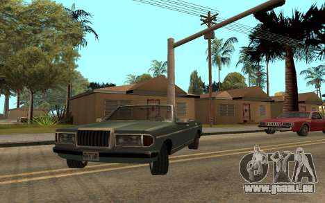 Admiral Cabrio für GTA San Andreas