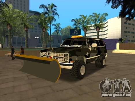 Chevrolet Blazer pour GTA San Andreas