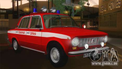 Protection contre l'incendie VAZ 21011 pour GTA San Andreas laissé vue