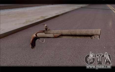 Pistolet silex pour GTA San Andreas