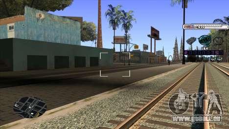 C-HUD Cesar Weezy pour GTA San Andreas troisième écran