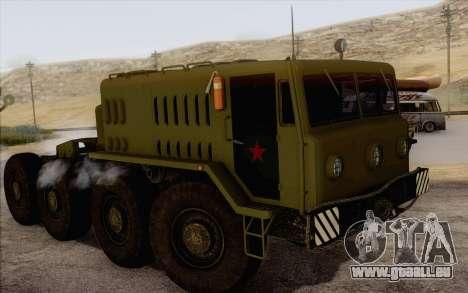 535 Militaires MAZ pour GTA San Andreas