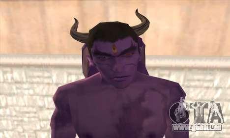Devil Kazuya Mishima pour GTA San Andreas troisième écran