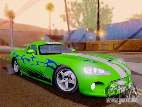 Dodge Viper SRT-10 Coupe pour GTA San Andreas roue