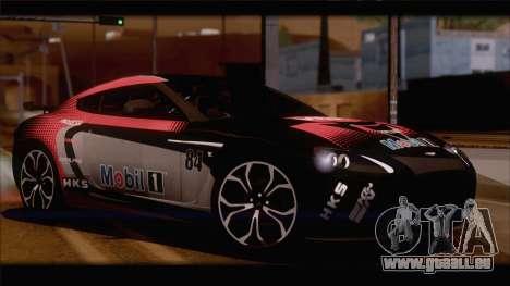 Aston Martin V12 Zagato 2012 [HQLM] pour GTA San Andreas vue de droite
