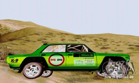 Lada 2105 VFTS pour GTA San Andreas vue de droite